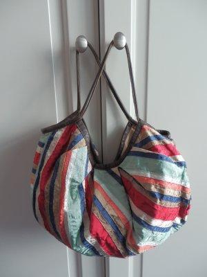 Handtasche Beuteltasche von Accessorize bunt gestreift