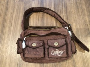 Billabong Handbag dark brown