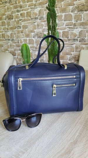 Handtasche blau von H&M