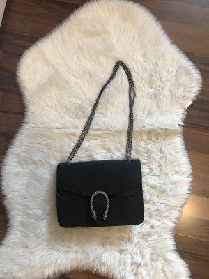Bolso tipo pochette negro