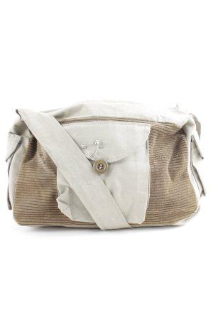 Handbag brown-grey brown street-fashion look