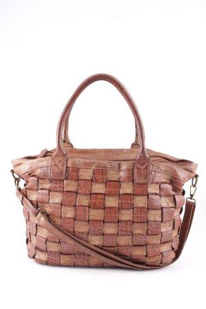 Handtasche braun-hellbraun Street-Fashion-Look