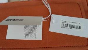 Handtasche  Bree, auch als Umhängetasche, neu, mit Etikett, mit weiches Feinrindnappaleder, Farbe Coral