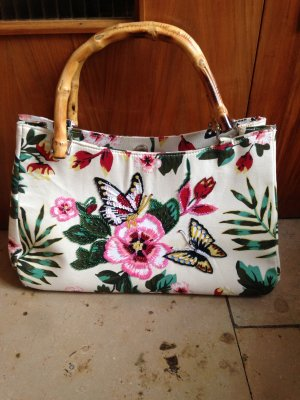 Handtasche bunte Blumen