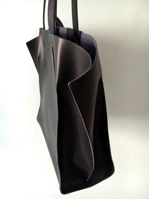 Handtasche Business Tasche Leder schwarz, sehr edel Hammer neu