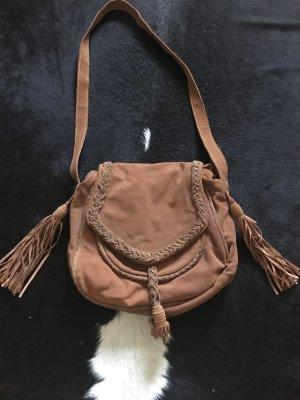 Zara Fringed Bag brown