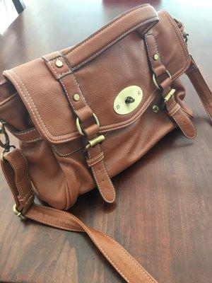 Handtasche *camel-braun* zum umhängen