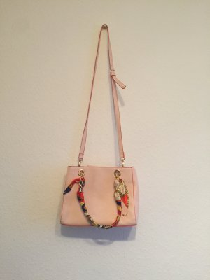 Handtasche carpisa orange/ Rose