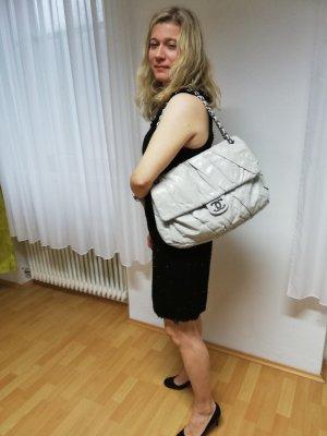 Chanel Sac à main gris clair-argenté