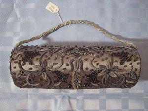Handtasche Clutch Baguette Henkel Abend DRAP 304 Hochzeit Elegant