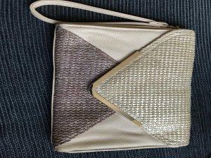 Handtasche clutch gold bijou brigitte