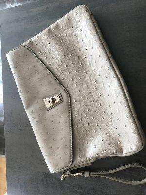 Handtasche Clutch im Straussleder-Look von Marc by Marc Jacobs