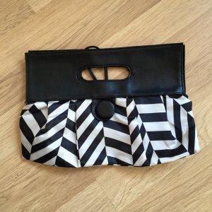 Handtasche, Clutch, schwarz-weiß, super cool!