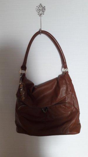 Handtasche /cognac