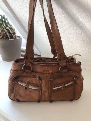 Handtasche cognac Hugo Boss
