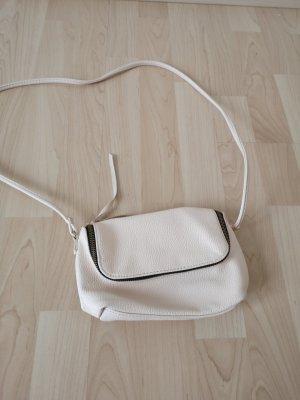 Handtasche creme kaum genutzt