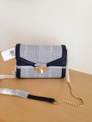 Michael Kors Handbag white-dark blue leather