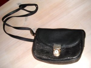 Marc Picard Mini Bag dark blue leather