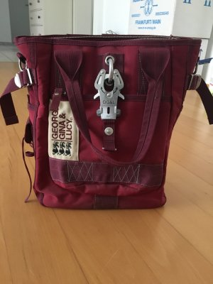 George Gina & Lucy Handtas bordeaux