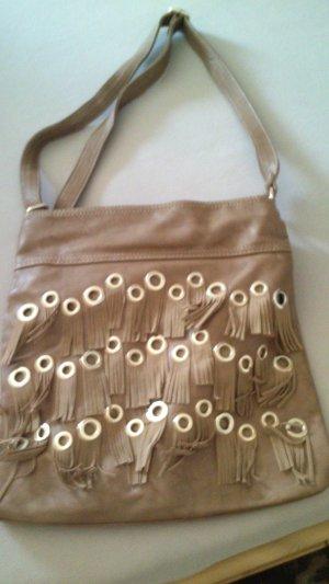 Fringed Bag light brown