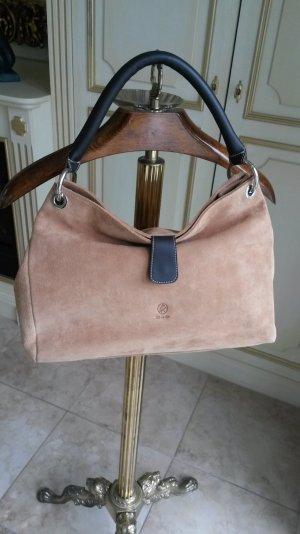 Handtasche echtes Wildleder neu!!