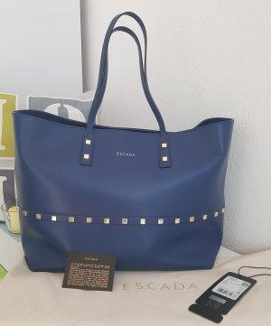Handtasche - Escada - Leder, Blau ... NP 749 €