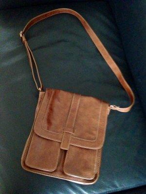 Handtasche, Esprit, Cognacfarben