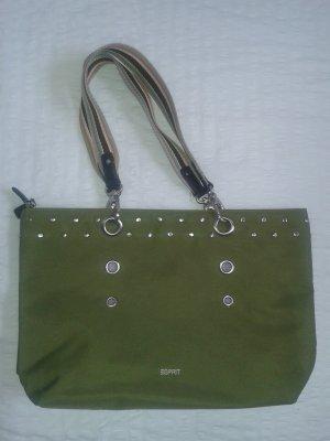 Handtasche * Esprit * NEU * grün-lila