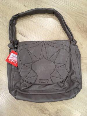 Handtasche Esprit taupe neu