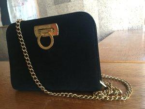 Handtasche Ferragamo schwarz
