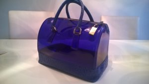 Furla Carry Bag blue synthetic material