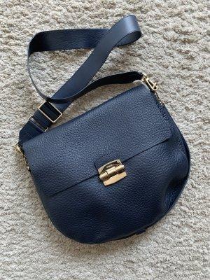 Furla Gekruiste tas donkerblauw