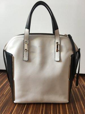 Handtasche Furla schwarz-weiß
