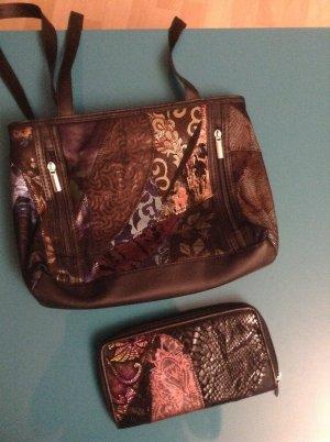 Handtasche Geldbeutel im Set