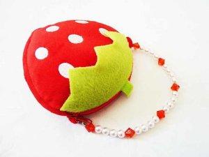 Handtasche Geldbörse kleine Tasche Erdbeere süßes Früchtchen Geschenke für sie