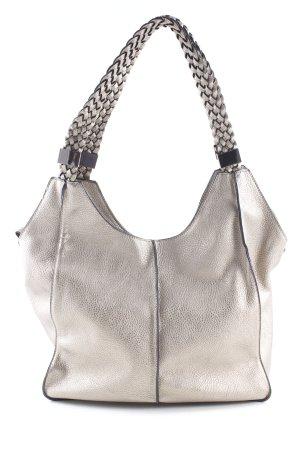 Handtasche goldfarben Casual-Look