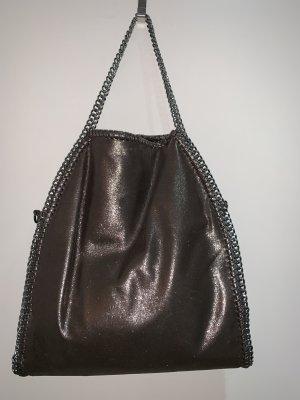 0039 Italy Sac porté épaule gris-bronze