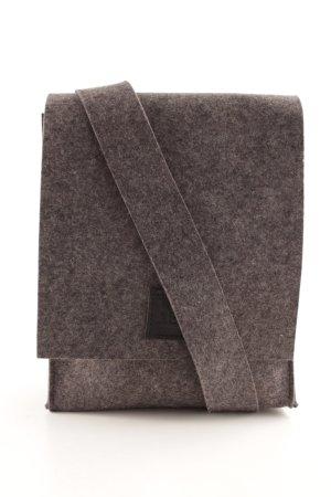 Handtasche grau meliert Casual-Look