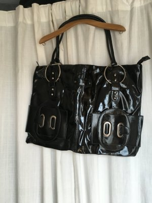 handtasche gross betty barclay schwarz retro