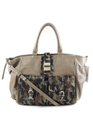 Handtasche grüngrau Casual-Look