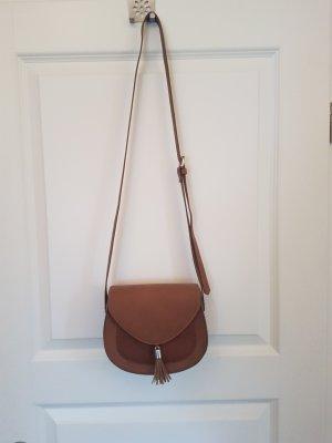 Handtasche H&M cognac
