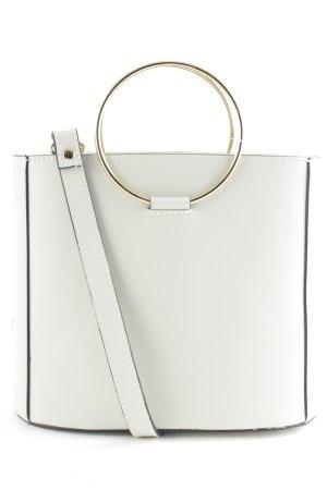 Handtasche hellbeige schlichter Stil
