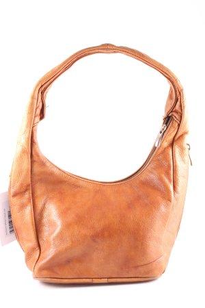 Handtasche hellbraun Casual-Look
