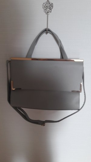 Handtasche /hellgrau