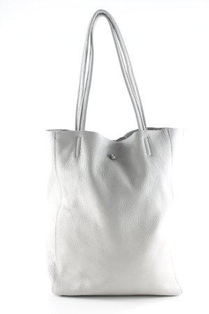 Handtasche hellgrau Casual-Look