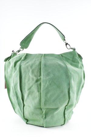 Borsetta verde chiaro stile casual