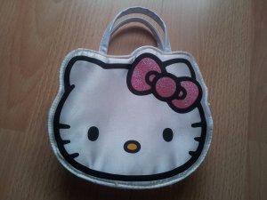 Hello kitty Mini sac blanc-rouge framboise