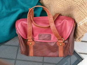 afis Carry Bag multicolored imitation leather