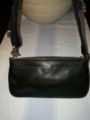Hugo Boss Mini sac noir cuir