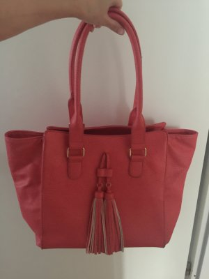 Handtasche hummerfarben